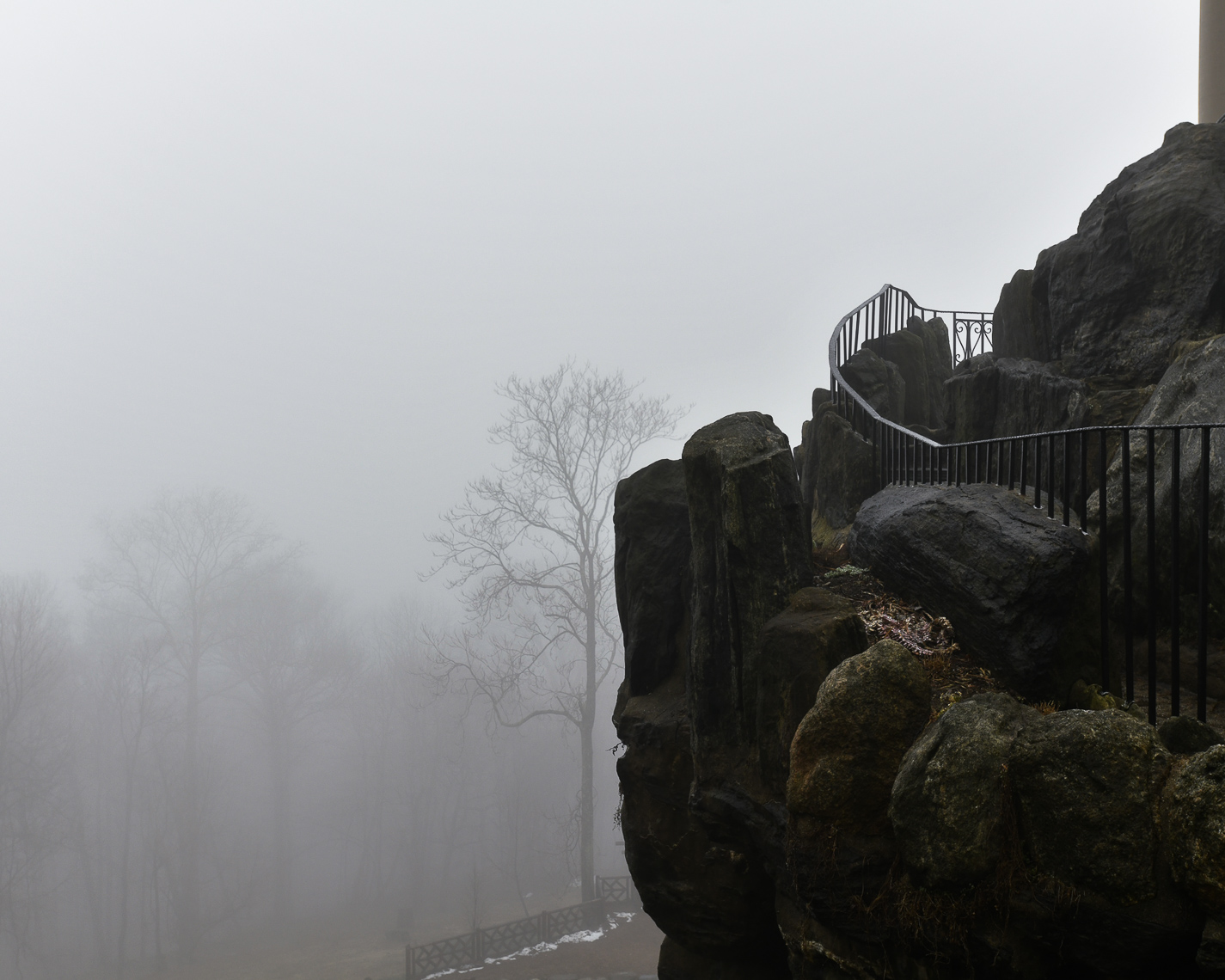 Untermyer in fog